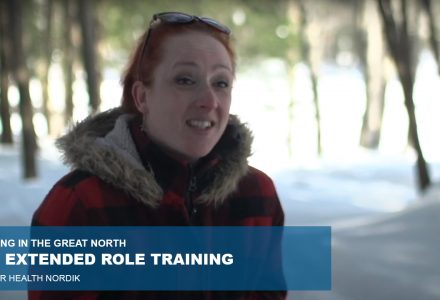 The Nordik Premier Health extended role training, a must for the Great North